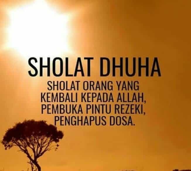 Filosofi mengenai Sholat Dhuha