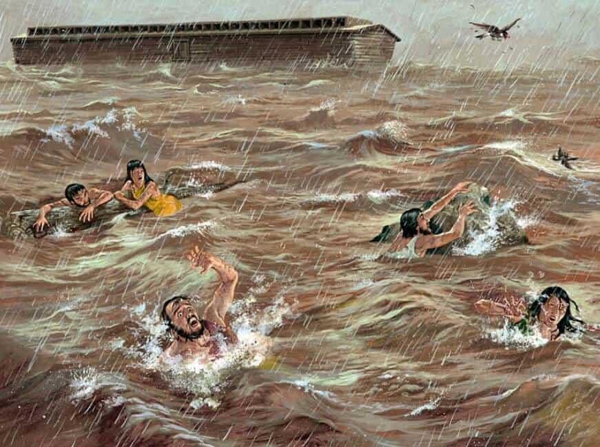 Putra Nabi Nuh yang tenggelam banjir