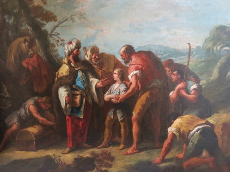 Nabi Yusuf dijual sebagai budak
