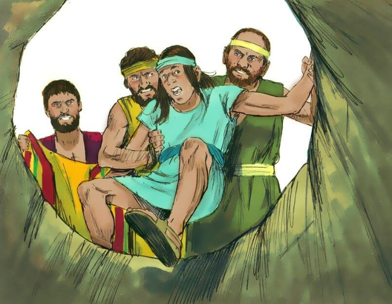 Nabi Yusuf dimasukkan ke dalam Perigi