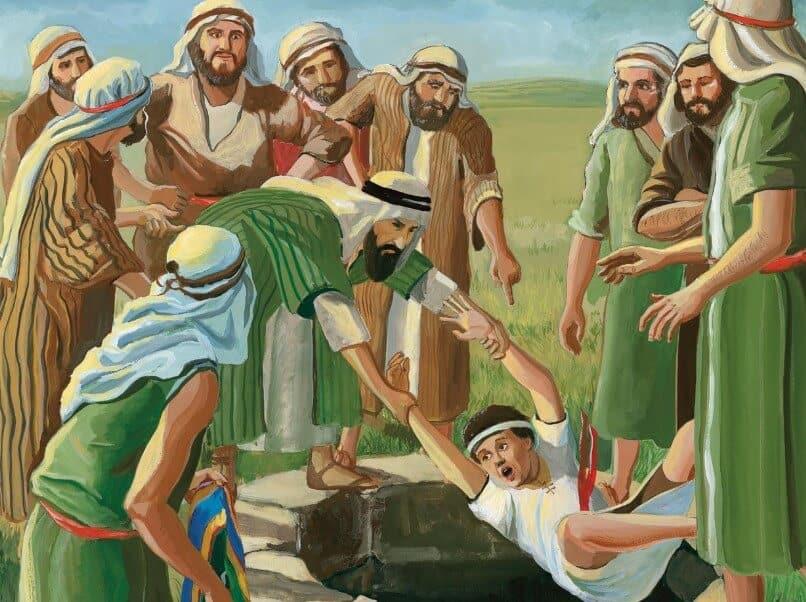 Pertemuan di antara saudara-saudara Nabi Yusuf
