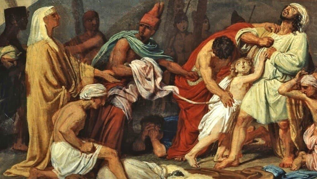 Yusuf menahan Benyamin sebagai tahanan