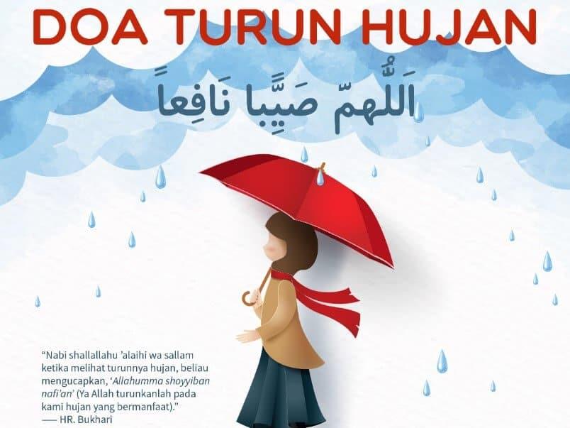Meminta Rezeki Saat Turun Hujan