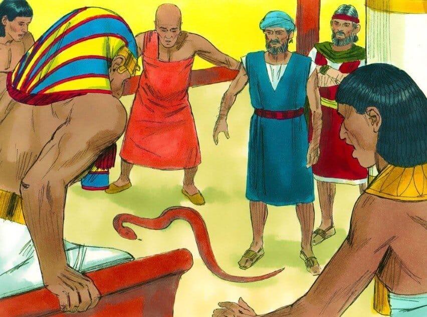 Nabi Musa Menghadap Ke Firaun