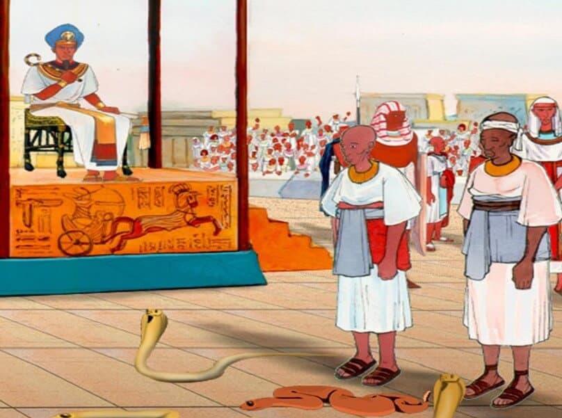 Kisah Nabi Harun dan Nabi Musa Menghadap Fir'aun